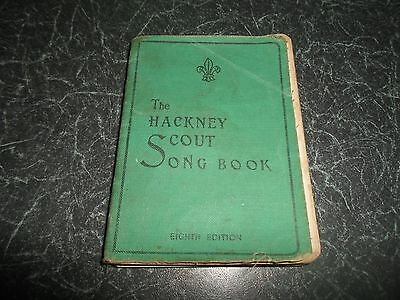 Hackney Scout Song Book 1947 Dedicated ToThose Who died in Service 1914-1918