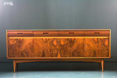 Vintage Antique Danish Syle British Sideboard Drinks Cabinet Mid Century Retro