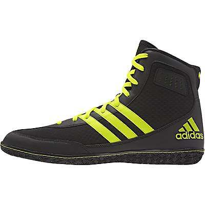 Adidas Mat Wizard 3 Black Boxing Boots Wrestling Shoes Trainers