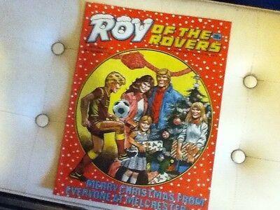ROY OF THE ROVERS - Christmas Issue 1987