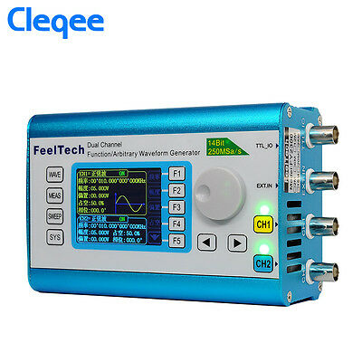 30MHz Arbitrary Waveform High Signal Generator 250MSa/s Frequency meter DDS