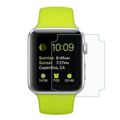 Apple Watch TPU Screen Protector Edge to Edge Genuine Tempered Hard for 38mm