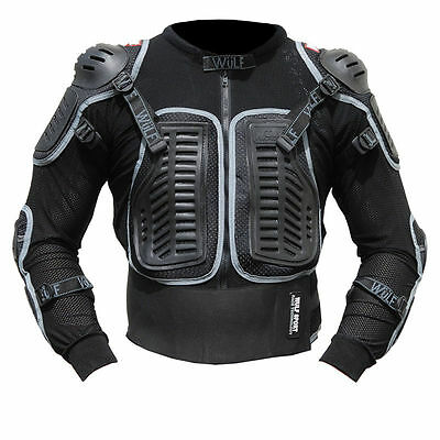 Wulfsport Full Deflector Body Armour Adult MX Motocross Pitbike Quad Dirtbike