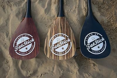 Carbon Sup Paddleboard Paddle Adjustable Or Fixed FREE Bag Fatstick
