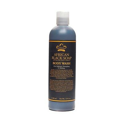 Nubian Heritage African Black Soap Body Wash 384ml