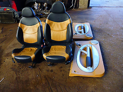 Mini Cooper (03) Set Of Leather Seats And Door Cards