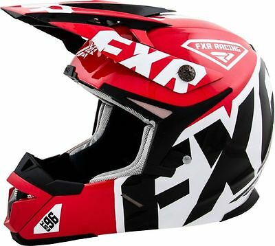 FXR 15 X-1 Helmet Red X LARGE