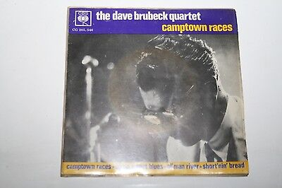 "The Dave Brubeck Quartet - Camptown Races - 7"" E.P."