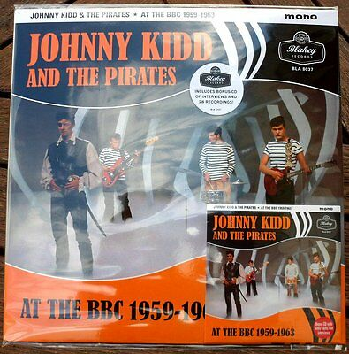 Johnny Kidd & The Pirates -At The Bbc 1959 -1963 180 Gram Vinyl & Bonus Cd