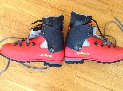Koflach Plastic Mountaineering Boots With Liners 12 1/2
