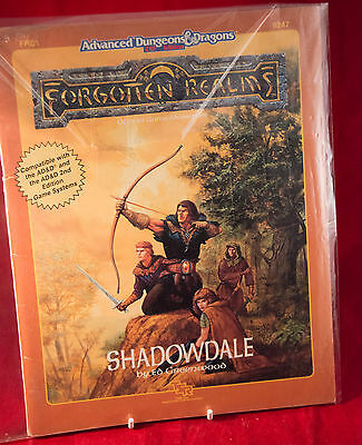 FRE1 Shadowdale AD&D 2E Forgotten Realms 9247 TSR Dungeons Dragons