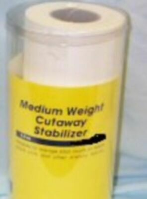Medium Weight Cutaway Embroidery Stabilizer  New