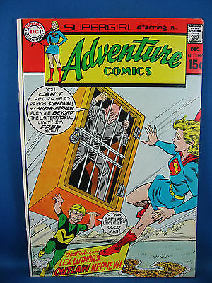 Adventure Comics 387 Vf+  Supergirl 1969