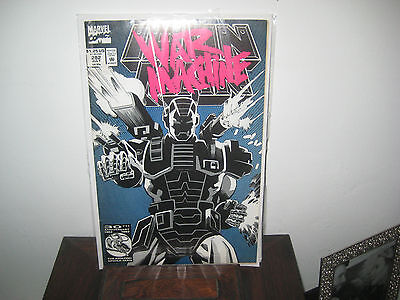 Iron Man #282 - 1st full appearance of WAR MACHINE! (Marvel, 1992)