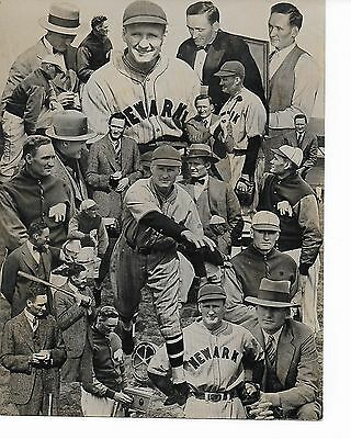 Walter Johnson Photo and Newspaper Clippings, Joe Dimaggio PCL Game Record