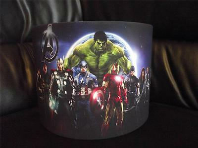 "Avengers 10"" Drum Ceiling Lampshade Lightshade"