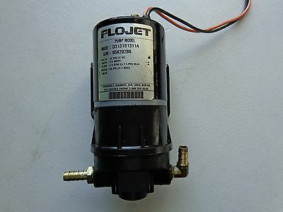 Flojet D3131B1311A Diaphragm Pump 12V, 2 Cam, No Switch 7AMPS 1 GPM 50 PSI