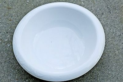 "Knowles Taylor Knowles K T & K White American Ironstone 16"" Wash Basin 1890-1920"
