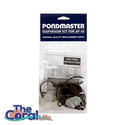 Pondmaster Replacement Diaphragm Kit for AP-40 - Pondmaster PART # 14545