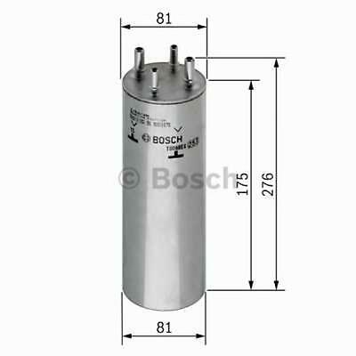 FUEL FILTER BOSCH 0450906467 VW Multivan Touareg Transporter T5