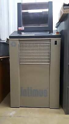 Industrial Paper Shredder Intimus 4440SE With Wheels Portable