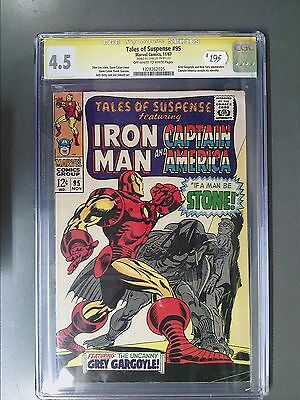 CGC 4.5 Signature Series Tales of Suspense #95 Autographed by Stan Lee!