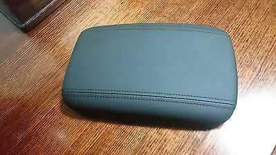 Holden Commodore VF and VE Genuine Real Leather Console Lid Black Onyx