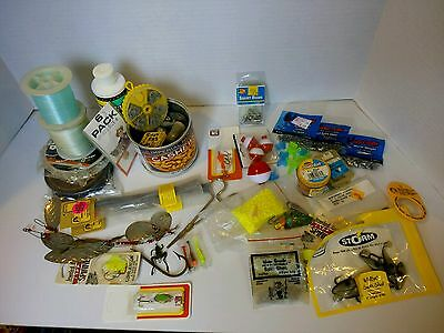 Mix Lot of Fishing and Tackle Stuff