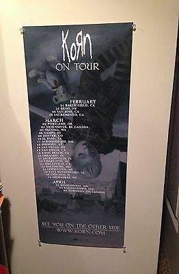 KORN - See You On The Other Side - Tour Banner - RARE - NEW/UNUSED - 2006