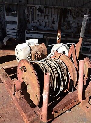 Old Electric Winch 240v Half A Horsepower