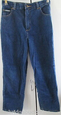 Children's Denim Jeans Piping Hot Size 10 Cotton Designed to Fade