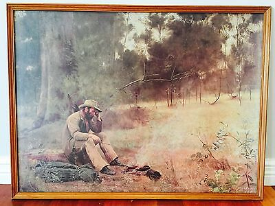"Vintage Collectable Mc Cubbin "" Down On His Luck "" Printed"