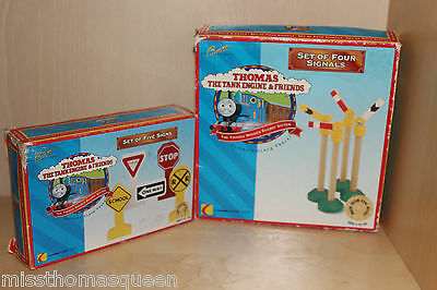 Thomas The Tank Engine Wooden Railway SIGNS AND SIGNALS New in Box