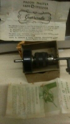 SAFE D SPEEDER by Mason Master Vintage drill accessory very good boxed condition