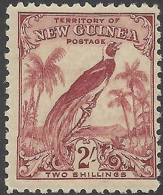 New Guinea 1932 2/- BIRD OF PARADISE (1) Unhinged Mint SG 186