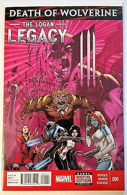 Death of Wolverine The Logan Legacy #1 (2014) Soule