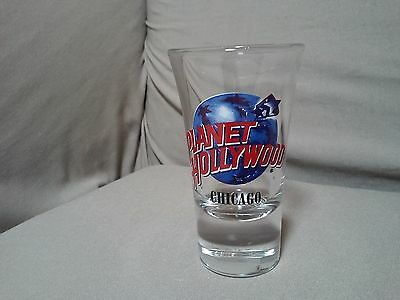 """Planet Hollywood """"chicago"""" Shot Glass /shooter"""