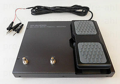 M-Audio Black Box Pedal Board für Black Box Foot Controller + OVP + GARANTIE
