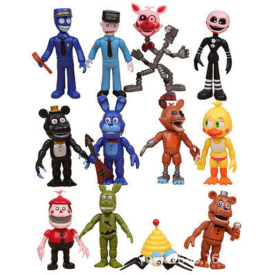 Hot Five Nights at Freddy's FNAF Game 12pcs Action Figures Doll Kid Children Toy