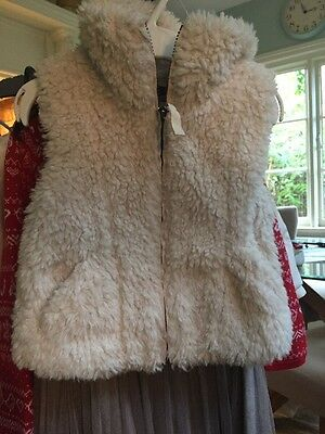 Girls Fur Gillet 4-5 H&M