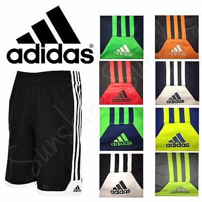 NWT ADIDAS Boys Classic 3 Stripe Key Item Athletic Shorts Variety Sizes & Colors