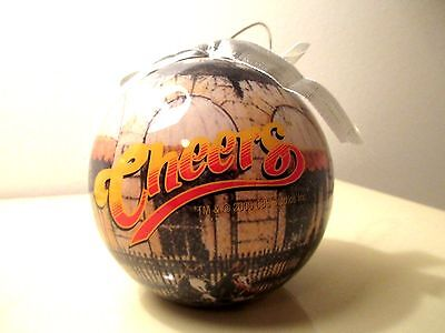 Cheers Christmans Tree Ball Ornament TV Show