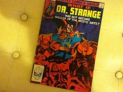 WHAT IF #40 Dr Strange had not become Master of the Mystic Arts - Marvel 1983
