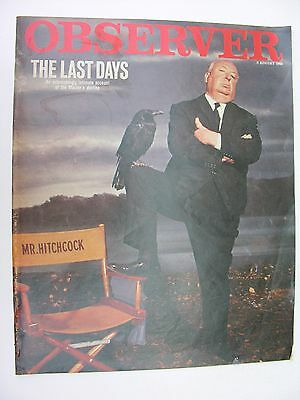 OBSERVER 8 August 1982 Alfred Hitchcock Classix Nouveaux Sal Solo Sunny Ade Juju