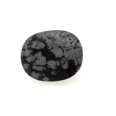 OBSIDIAN SNOWFLAKE snow. 3.15 cts. Africa
