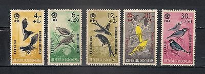 Indonesia 1965 ** Aves - 2/24