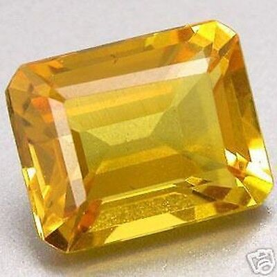 3.05 Cts. Superb Citrine Yellow. Hydrothermal