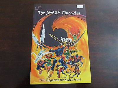 THE X-MEN CHRONICLES #1 FantaCo Enterprises 1981 NM 9.0