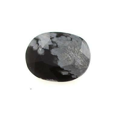 OBSIDIAN SNOWFLAKE snow. 2.17 cts. Africa