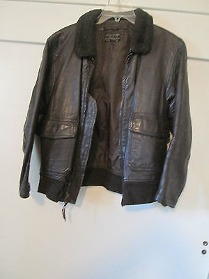 Vintage Authentic Flying Intermediate Type G 1 Leather Flight Jacket size 46